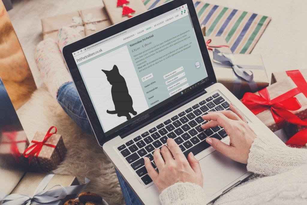 order pet portrait online