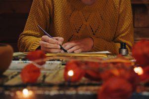 Pet portrait artist painting watercolour
