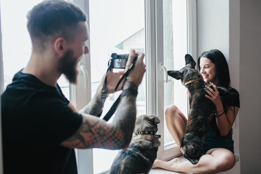 Pet portraiture from photos UK