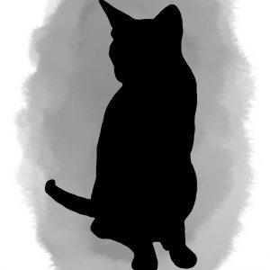 Watercolour pet portrait artist UK
